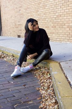 A parisian in America by Alpa R | Orlando Fashion Blogger: A Parisian in America in Sneakers Version !