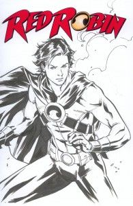 Red Robin by Marcus To - part of our FCBD 2012 Sketch Cover Collection!