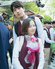 Korean Actresses, Korean Actors, Actors & Actresses, Park Bo Young, Drama Korea, Korean Drama, Kdrama, Ahn Hyo Seop, A Werewolf Boy