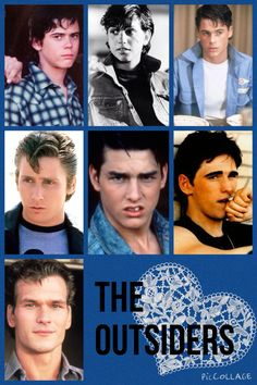 C.Thomas Howell as Ponyboy Curtis Ralph Macchio as Johnny Cade Rob Lowe as Sodapop Curtis Emilio Estevez as Two-Bit(keith) Mathews Tom Cruise as Steve Randle Matt Dillon as Dallas Winston Patrick Swayze as Darrel Curtis