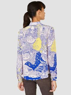 Couverture and The Garbstore - Womens - Rachel Comey - Chatter Bainville Blouse