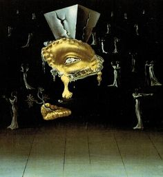 Design by Salvador Dali for the ball in the dream sequence in Spellbound directed by Alfred Hitchcock, 1945
