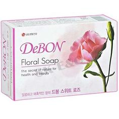 LG-H-H-DeBon-Floral-Soap-Sweet-Rose-4ea Price:US $8.72 Description: A sweet body soap with rose extract. Visit: http://cgi.ebay.com/ws/eBayISAPI.dll?ViewItem&item=331127216699&ssPageName=STRK:MESE:IT