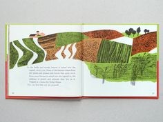The hills are alive. An old kids book teaching them about plants & growth.