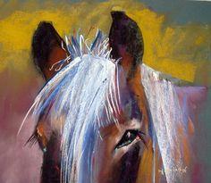 belgian amigo Marie-France Oosterhof   pastel on canson mi-teintes  45X50 cm