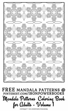 Blank Coloring Pages, Pattern Coloring Pages, Mandala Coloring Pages, Free Printable Coloring Pages, Coloring Pages For Kids, Coloring Books, Color Me Badd, To Color, Mandala Artwork