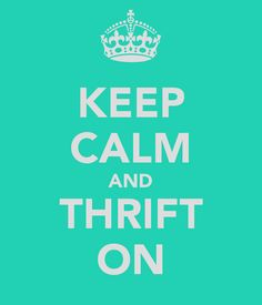 Thrift on, savvy shoppers!