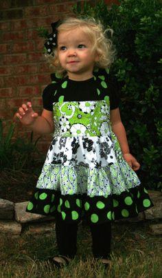 Tiered Twirly Dress