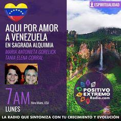 """Check out """"POR AMOR A VENEZUELA-SAGRADA ALQUIMIA 10-7-2017"""" by PositivoExtremoRadio on Mixcloud"""