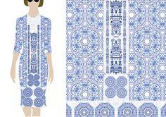 fleur-du-Brancovan-4-model Kimono Top, Store, Model, Fashion, Flowers, Moda, Fashion Styles, Larger