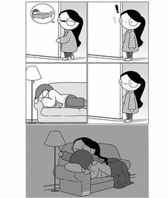 Couch cuddles ❤ catana comics catana comics, relationship co Cute Couple Comics, Cute Couple Cartoon, Couples Comics, Cute Love Cartoons, Funny Couples, Cute Cartoon, Cute Couple Memes, Couple Quotes, Cantana Comics
