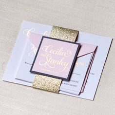 Shop the Cecilia Collection | Engaging Papers #wedding #invitations