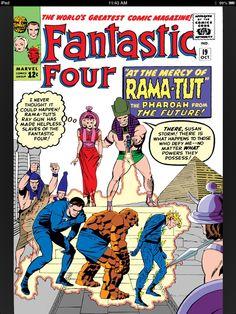 Fantastic Four #19 first appearance of Rama-Tut.