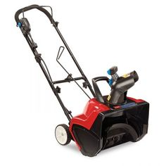 Shop a great selection of Toro 38381 15 Amp Electric 1800 Power Curve Snow Blower. Find new offer and Similar products for Toro 38381 15 Amp Electric 1800 Power Curve Snow Blower. Electric Snow Blower, Electric Power, Electric Pencil Sharpener, Shoveling Snow, Riding Lawn Mowers, Electronic Recycling, Recycling Programs, Lawn Care, Outdoor Power Equipment