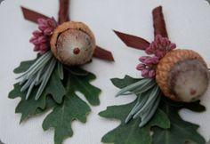 acorns/oak leaves/rosemary via botanical brouhaha