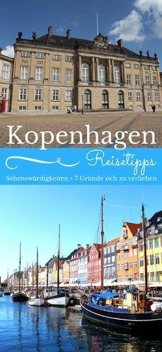 Kopenhagen Sehenswürdigkeiten und Reisetipps. Hier haben wir ganz besondere für dich zusammengetragen. Kommt mit in die Hauptstadt Dänemarks und schau, was du unbedingt erleben solltest und erfahre die 7 Gründe, warum du dich in diese Stadt einfach verlieben musst. Zeit für eine Stadt mit ganz besonderem Charme.