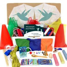 Movement and Motion is a Montessori inspired Toolbox that focuses on physical activity and the Montessori approach to learning grammar. Find more on MontessoriByMom.com