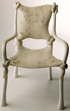 'Knot' chair by John Makepeace