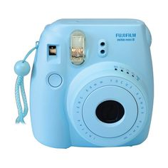 Fujifilm instax mini 8 Instant Film Camera (Blue) (13.547.920 IDR) ❤ liked on Polyvore featuring filler