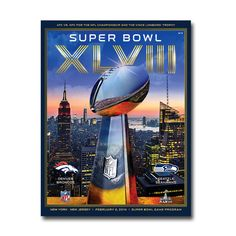 Super Bowl 48 Game Program