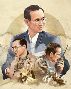 Our Beloved King King Rama 10, King Phumipol, King Of Kings, King Queen, King Bhumibol Drawing, King Thailand, Thailand Art, King Painting, Lil Peep Hellboy