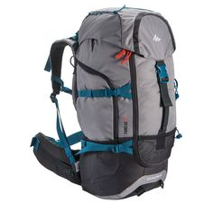 652e7515df8 Trekking_Accessoires Outdoor - Rugzak Forclaz 50 grijs QUECHUA - Backpacks  en rugzakken Quechua Rucksack, Backpack