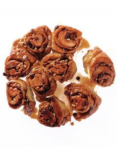 Walnut-Chocolate Sticky Buns Recipe