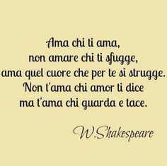 Amare - W.Shakespeare
