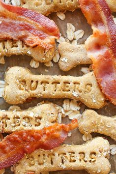 Bacon Flavored Dog Treats | How To Make Dog Treats | 21 Healthy Recipes Of Homemade Dog Treats