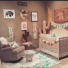 20 New Ideas baby girl nursery cactus - Baby Girl Room, Baby Bedroom, Baby Room Decor, Nursery Room, Girls Bedroom, Themed Nursery, Nursery Ideas, Room Ideas, Boho Nursery, Baby Girl Nursery Themes