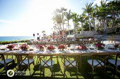Reception Setting // Flowers: Natural Pina