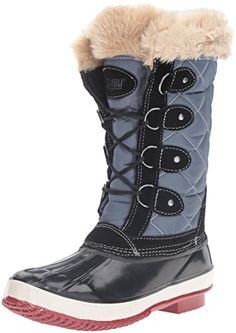 Khombu Womens Andie Snow Boot Black 9 M US >>> Want to know more, click on the image.