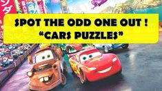 CAN YOU SPOT THE ODD ONE OUT? - DISNEY CARS PUZZLES    BEST BRAIN WORKOU... Animated Cartoons, Cool Cartoons, Cartoon Fun, Disney Cars, Disney Pixar, The Odd Ones Out, Best Brains, Fun Quizzes, Climbers