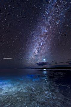 Milky Way and Venus