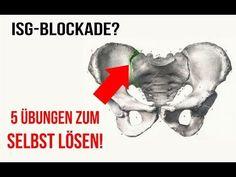 Iliosakralgelenk-Syndrom (ISG Schmerzen) // Übungen zum Mitmachen // ISG Syndrom - YouTube