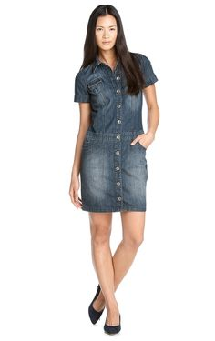 espirit Shirt Dress, My Style, Shirts, Clothes, Outfits, Dresses, Summer, Women, Fashion