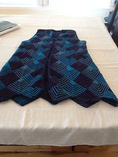 Ravelry: looseknitter's Harlequin Vest  Jane Slicer Smith pattern