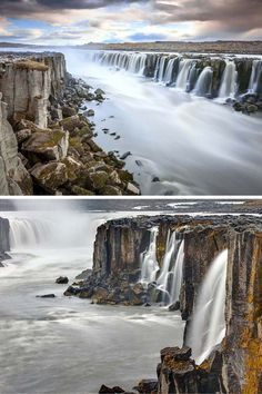 Selfoss waterfall in Iceland! One of the things that makes this waterfall so…