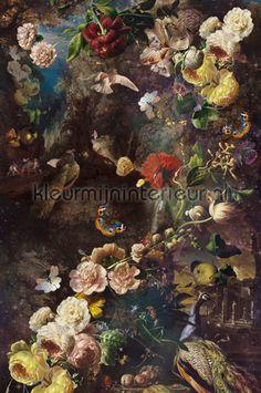 Floral Fantasy small Stupavska fotobehang 30722, Dutch Masters van BN Wallcoverings