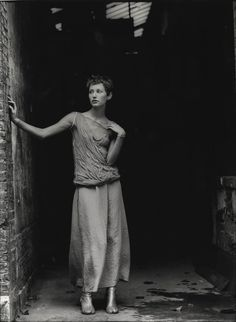Martin Margiela  http://thegiftsoflife.tumblr.com/  .. that time again. Digging into Martyn's archives for a nugget of fashion gold. Here is model Sarah Jones pictured wearing Martin Margiela. Photographed in Paris, Autumn 1993.