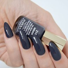 Apparently summer is over in the UK *eye roll at the non-stop rain* so I've started lusting over autumnal nail varnishes: here are 3 beaut Mavala polishes! Mavala Nail Polish, Grey Nail Polish, Nail Polish Colors, Polish Nails, Dark Grey Nails, Dark Grey Eyes, Nail Manicure, Manicure Ideas, Manicures
