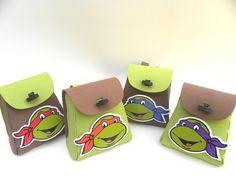 Mini Mochila Tartarugas Ninja-Cortes para Montar  www.petilola.com.br