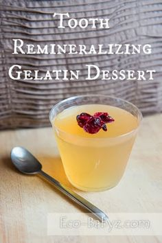 Eco-Babyz: Tooth Remineralizing Gelatin Dessert