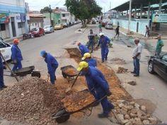 Retomada ações de tapa-buracos em áreas atingidas pela chuva