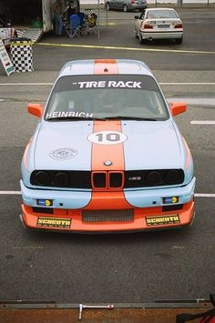 E30 M3 in Gulf racing colors