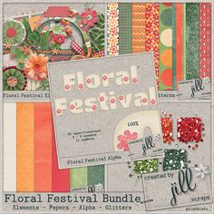 Floral Festival Collection - The Bundle    70% OFF TODAY ONLY - 2/5/2013