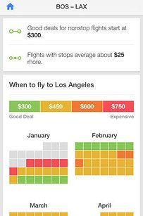 You'll get your lowest airfares ever thanks to the Hopper app's incredibly finely tuned price prediction feature.