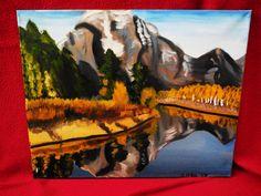 Oil Painting of Aspen Colorado