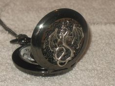 NEW Dragon Pocket Watch and Chain