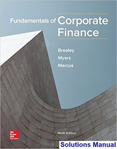 Test bank for managerial economics and strategy 2nd edition by fundamentals of corporate finance 9th edition brealey solutions manual test bank solutions manual fandeluxe Gallery